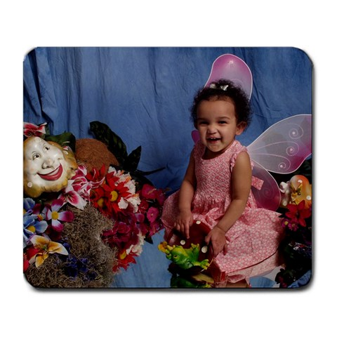 Azalea Mousepad By Heather   Large Mousepad   Dqmfbrqx0y1c   Www Artscow Com Front