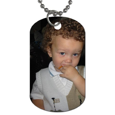 My Lil Monkey:) By Denice Wolfe   Dog Tag (one Side)   Yeppkipcvjr0   Www Artscow Com Front