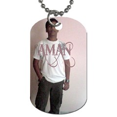 Metal Tag By Aman   Dog Tag (two Sides)   Hf66cadbdwuf   Www Artscow Com Front