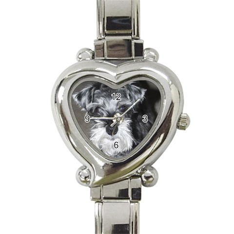 Wick Watch By Mandy Cable   Heart Italian Charm Watch   34pcbvmf9lgd   Www Artscow Com Front