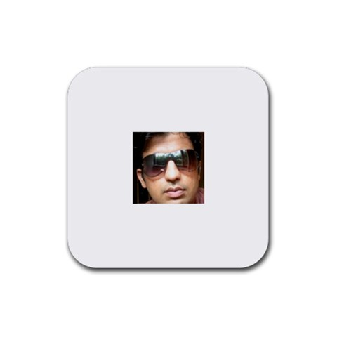 Bhoomika  By Bhoomika Karecha   Rubber Coaster (square)   D8nsr51jry69   Www Artscow Com Front