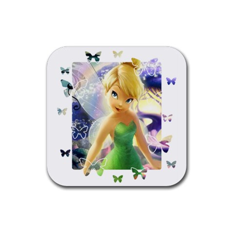 Tink By Angelique Musick   Rubber Coaster (square)   Jg0vntw7gsvb   Www Artscow Com Front