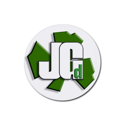 Jgd Coaster By Josh Green   Rubber Coaster (round)   6hreluh5qjuo   Www Artscow Com Front