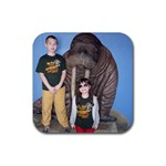 Indy Zoo - Rubber Coaster (Square)