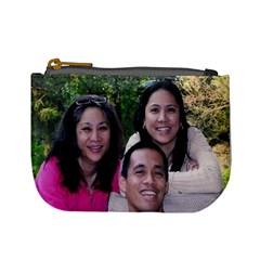 Family By Donna Tica   Mini Coin Purse   L4go2tpxj3ko   Www Artscow Com Front