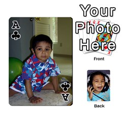 Ace Lakshya Cards1 By Anshu   Playing Cards 54 Designs   Bru3f84ux2c6   Www Artscow Com Front - ClubA