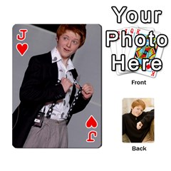 Jack Family Cards   Finished By Jennifer Littleton   Playing Cards 54 Designs   2nkybf0t0c1s   Www Artscow Com Front - HeartJ