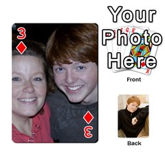 Family Cards   Finished By Jennifer Littleton   Playing Cards 54 Designs   2nkybf0t0c1s   Www Artscow Com Front - Diamond3