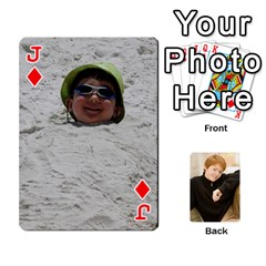 Jack Family Cards   Finished By Jennifer Littleton   Playing Cards 54 Designs   2nkybf0t0c1s   Www Artscow Com Front - DiamondJ