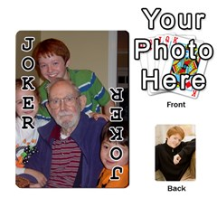 Family Cards   Finished By Jennifer Littleton   Playing Cards 54 Designs   2nkybf0t0c1s   Www Artscow Com Front - Joker1