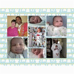 Adam s Calendar By Deanna   Wall Calendar 11  X 8 5  (12 Months)   3jb5468s14vd   Www Artscow Com Month