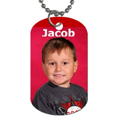 Travel Bug Tyler And Jacob By Tab Da   Dog Tag (two Sides)   Q8ws9doninz6   Www Artscow Com Front