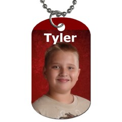 Travel Bug Tyler And Jacob By Tab Da   Dog Tag (two Sides)   Q8ws9doninz6   Www Artscow Com Back