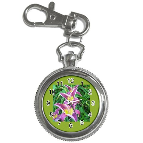 Lilies Keychainwatch By Kirsten Irish   Key Chain Watch   I1tr1q5y9tjw   Www Artscow Com Front