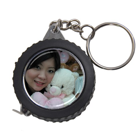 Measuring Tape Keychain By Tan Pei Si   Measuring Tape   Qjfvmu5nuem5   Www Artscow Com Front