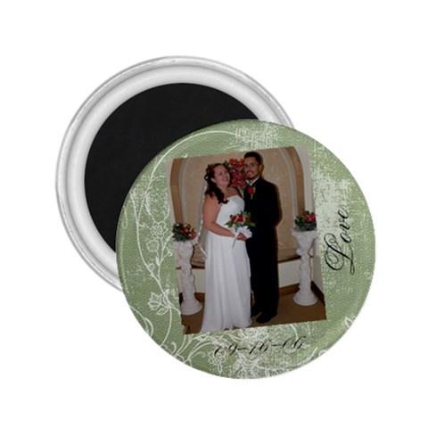 John & Amy By Amy Romero   2 25  Magnet   Bxx8zxti6tru   Www Artscow Com Front