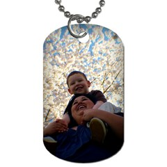 Abby By Carol   Dog Tag (two Sides)   Tihz7bg46nlh   Www Artscow Com Front