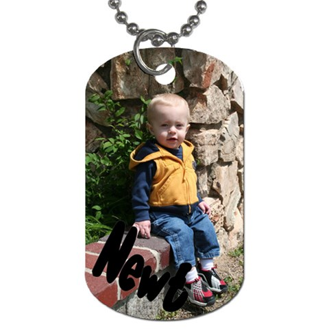 Newt s Dog Tag By Beth Barrett   Dog Tag (one Side)   M60xckdrn06j   Www Artscow Com Front