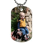 Newt s Dog Tag - Dog Tag (One Side)