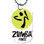 Zumba Fitness - Dog Tag (Two Sides)