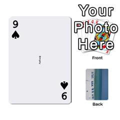 Cards By Lindsay   Playing Cards 54 Designs   1wyfmp015nza   Www Artscow Com Front - Spade9