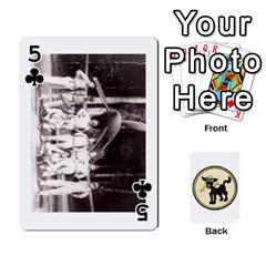 Dads Wwii Deck By Matt   Playing Cards 54 Designs   Vu00sztcu18g   Www Artscow Com Front - Club5