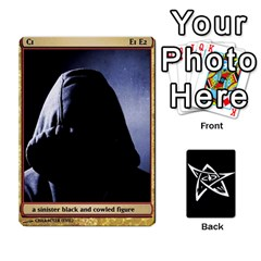 Dark Cults Fixed 1 By Ryan Mcswain   Playing Cards 54 Designs   Ku7wkc8dlkhx   Www Artscow Com Front - Diamond3
