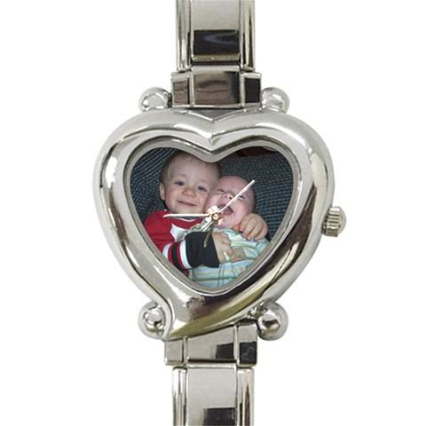 Mom s Heart By Jessrah    Heart Italian Charm Watch   Au3h9ibk0lze   Www Artscow Com Front