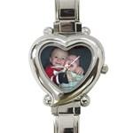 Mom s Heart - Heart Italian Charm Watch