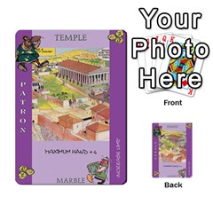 These Romans Are Crazy D2 By Ben   Multi Purpose Cards (rectangle)   D73igysur5ad   Www Artscow Com Front 6