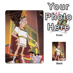These Romans Are Crazy D2 By Ben   Multi Purpose Cards (rectangle)   D73igysur5ad   Www Artscow Com Back 52