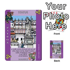 These Romans Are Crazy D2 By Ben   Multi Purpose Cards (rectangle)   D73igysur5ad   Www Artscow Com Front 3