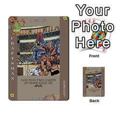 These Romans Are Crazy D2 By Ben   Multi Purpose Cards (rectangle)   D73igysur5ad   Www Artscow Com Front 25