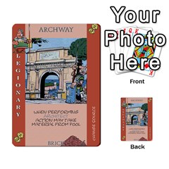 These Romans Are Crazy D2 By Ben   Multi Purpose Cards (rectangle)   D73igysur5ad   Www Artscow Com Front 35