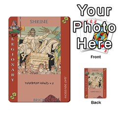 These Romans Are Crazy D2 By Ben   Multi Purpose Cards (rectangle)   D73igysur5ad   Www Artscow Com Front 36
