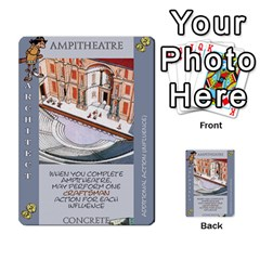 These Romans Are Crazy D2 By Ben   Multi Purpose Cards (rectangle)   D73igysur5ad   Www Artscow Com Front 39