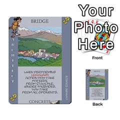 These Romans Are Crazy D2 By Ben   Multi Purpose Cards (rectangle)   D73igysur5ad   Www Artscow Com Front 41