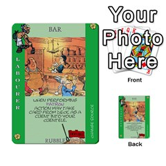 These Romans Are Crazy D3 By Ben   Multi Purpose Cards (rectangle)   9xlah42trh7v   Www Artscow Com Front 16