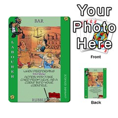 These Romans Are Crazy D3 By Ben   Multi Purpose Cards (rectangle)   9xlah42trh7v   Www Artscow Com Front 18
