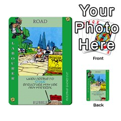 These Romans Are Crazy D3 By Ben   Multi Purpose Cards (rectangle)   9xlah42trh7v   Www Artscow Com Front 24