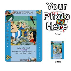 These Romans Are Crazy D3 By Ben   Multi Purpose Cards (rectangle)   9xlah42trh7v   Www Artscow Com Front 26