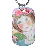 My newest Angel necklace - Dog Tag (One Side)