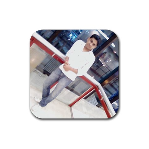 Rubber Coaster(square) By Aakash   Rubber Coaster (square)   Nf2ot4pqg43w   Www Artscow Com Front
