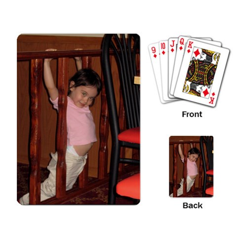 By Stephanie   Playing Cards Single Design   Fwmn46aqphl4   Www Artscow Com Back