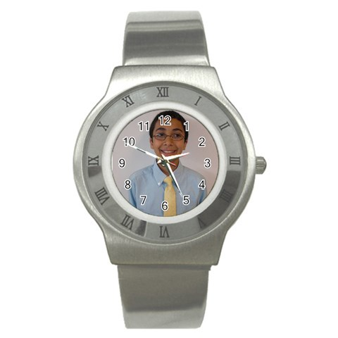 By Hasan   Stainless Steel Watch   I6gw83mlppsn   Www Artscow Com Front