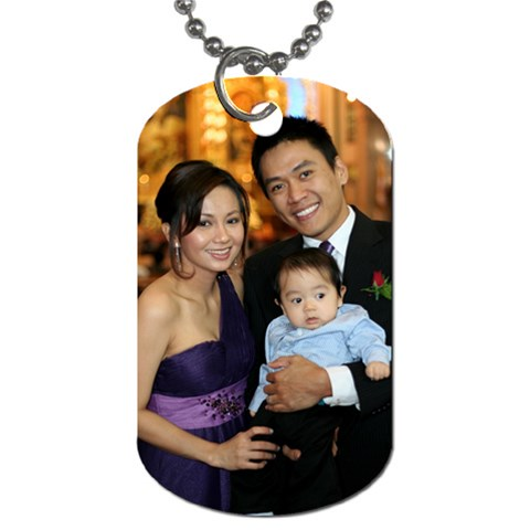 Dog Tag From Artscow By Arlene   Dog Tag (one Side)   Ecin60danj7p   Www Artscow Com Front