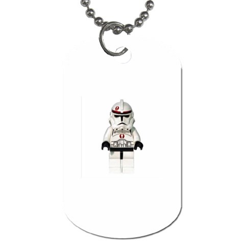 Legoclonetroopertag By Philip Proefrock   Dog Tag (one Side)   3gxabnvdz07w   Www Artscow Com Front
