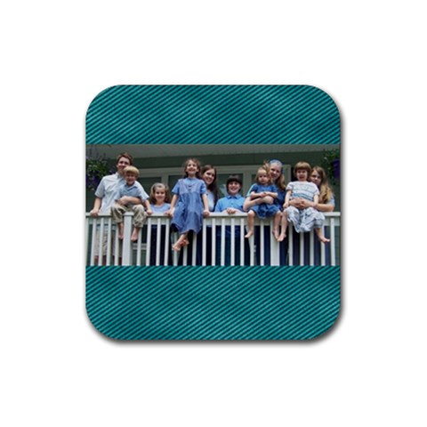 Kidz Coaster By Kirsten Irish   Rubber Coaster (square)   64ic3wp3c4ap   Www Artscow Com Front