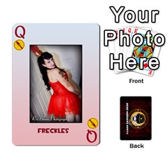 Queen Deck Of Cards For The Cp Community By Brent   Playing Cards 54 Designs   Qjg75oli918h   Www Artscow Com Front - HeartQ