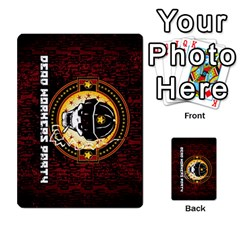 Deck Of Cards For The Cp Community By Brent   Playing Cards 54 Designs   Qjg75oli918h   Www Artscow Com Back